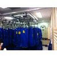 Transportador aéreo hospitalar e lavanderia